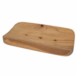 Solid wooden soap holder