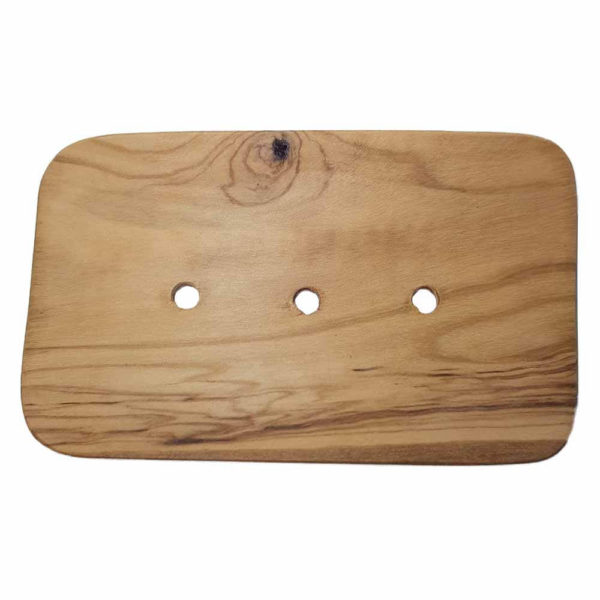 Sustainable soap holder for bath or kitchen